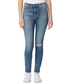 Barbara Super Skinny Ankle Jeans