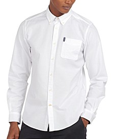 Men's Brooklime Tailored-Fit Stretch Oxford Shirt