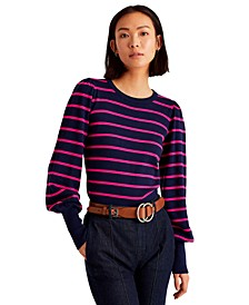 Crewneck Striped Sweater