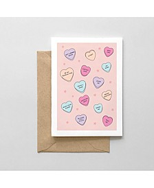 Pandemic Sweethearts Greeting Card