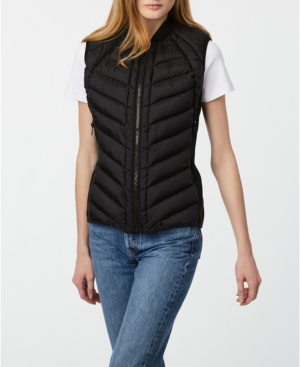 Bernardo Downs RECYCLED QUILTED PUFFER VEST