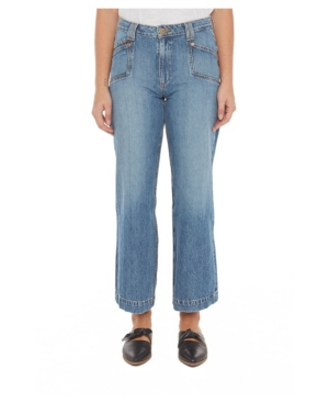 Women's High-Rise Wide Leg Jeans