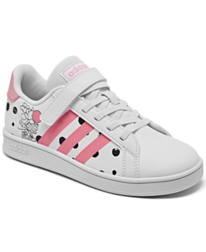 Adidas Originals ADIDAS LITTLE GIRLS DISNEY GRAND COURT CASUAL SNEAKERS FROM FINISH LINE