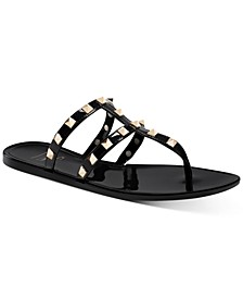 INC Ellie Jelly Flat Sandals, Created for Macy's