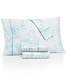 Novelty Print Standard Pillowcase Pair, 250 Thread Count 100% Cotton, Created for Macy's