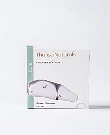 Thulisa Naturals Calm Lavender-Geranium Shower Steamers