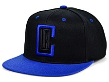 Los Angeles Clippers Black Royalty Snapback Cap