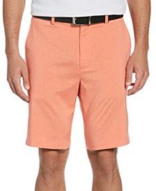 Men's Performance Stretch Heathered Golf Shorts