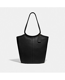 Leather Bea Tote
