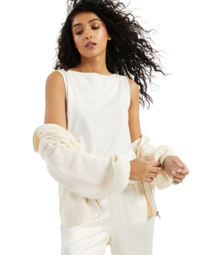 Alfani Loungewears MODERN LOUNGE BOAT-NECK TANK TOP, CREATED FOR MACY'S