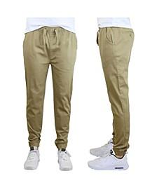 Men's Slim-Fit Classic Cotton Stretch Jogger Pants