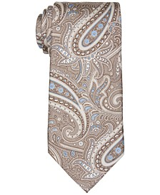 Men's Classic Intricate Paisley Silk Tie