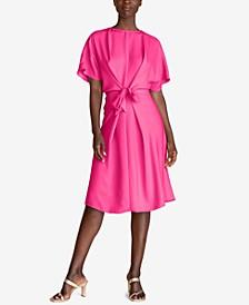 Implied Tie-Front Dress