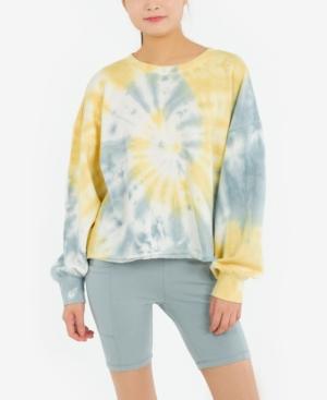 Juniors' Burnout Sweatshirt