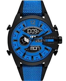 Men's Mega Chief Silicone Blue Strap Watch 51mm