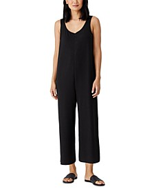Organic Cropped Jumpsuit