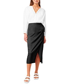 Gabina Drape Skirt
