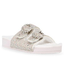 Betsey Johnson Mitsi Footbed Sandals