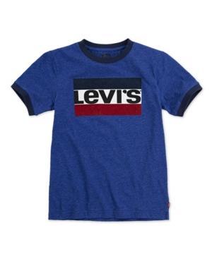 Levi's LITTLE BOYS LOGO RINGER T-SHIRT