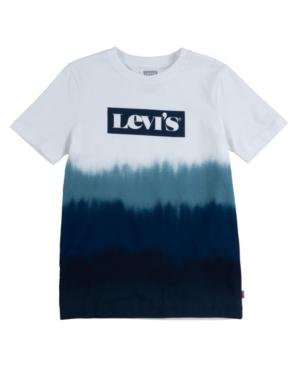 Levi's LITTLE BOYS DIP DYE LOGO T-SHIRT