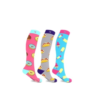 Men's and Women's Munchies Knee High Compression Socks