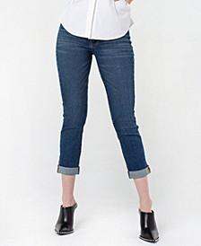 Women's Roll Cuff Girlfriend Jeans