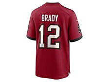 Tampa Bay Buccaneers Men's Super Bowl LV Participant Patch Game Jersey - Tom Brady