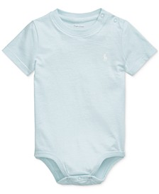 Ralph Lauren Baby Boys Cotton Jersey Bodysuit