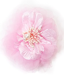 Chiffon Net Flower Pin