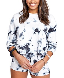 Juniors' Charli Tie-Dyed Sweatshirt