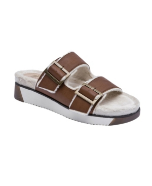 Women's Jessica Fuzzy Footbed Sandals Women's Shoes