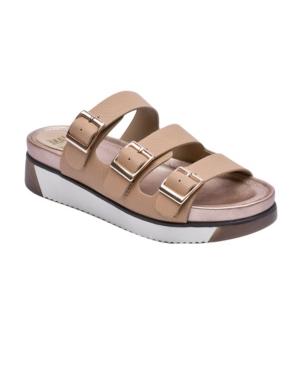 Women's Nola Buckle-Strap Footbed Sandals Women's Shoes