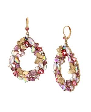 Stone Cluster Wreath Earrings