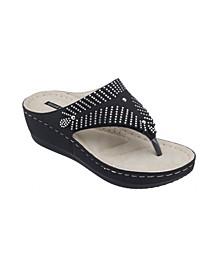 Virginia Wedge Sandal