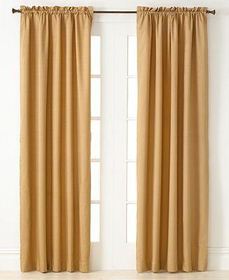 "miller curtains winston 40"" x 84"" energy saving panel - window"
