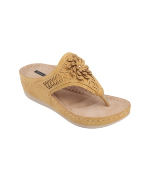 Allie Floral Wedge Sandal Women's Shoes