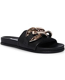 Women's Delay Mega-Chain Slide Sandals