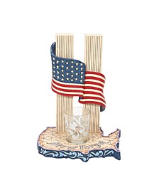 Never Forget 9-11 Candle Holder