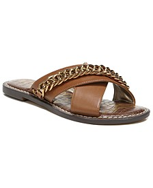 Women's Gabrie Crisscross Chain Sandals