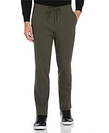 Men's Slim Fit Stretch Cotton Gauzy Drawcord Pant