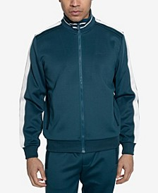 Men's Logo Taping Neoprene Track Jacket