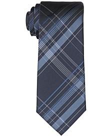 Men's Slim Spacious Plaid Tie