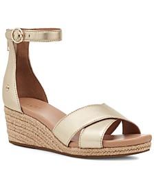 Women's Eugenia Espadrille Wedge Sandals