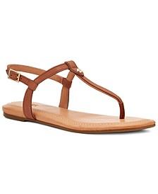 Women's Madeena T-Strap Slingback Sandals