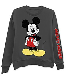 Trendy Plus Size Mickey Mouse Graphic-Print Sweatshirt