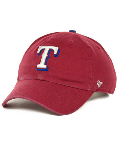 '47 Brand Texas Rangers Clean Up Hat