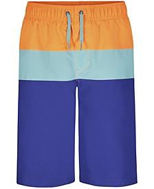 Big Boys Triblock Swim Shorts