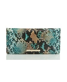 Ady Lilyana Embossed Leather Wallet