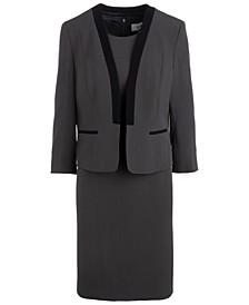 Open-Front Dress Suit
