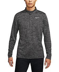 Men's Victory Dri-FIT Heathered Stripe Golf Quarter-Zip
